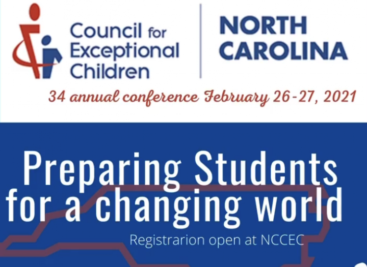NC CEC logo with conference title